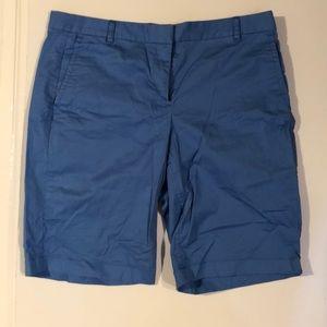 J. Crew Bermuda shorts, size 6